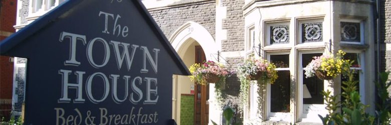 The Town House Guest House in Cardiff South Wales
