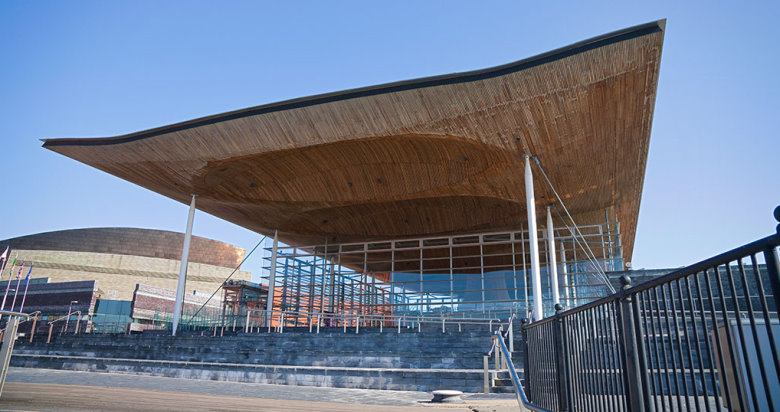 Senedd  Welsh Assembly Building Cardiff