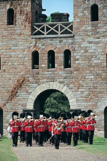 Welsh Guards at Cardiff Castle